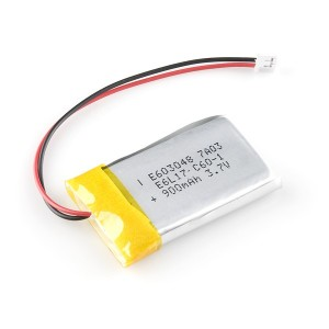 Batería LiPo 900mAh / 3.7V