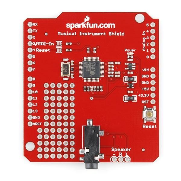 Arduino musical shield