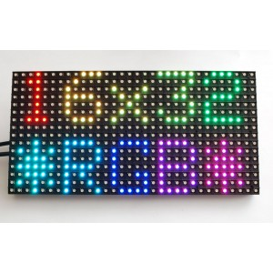 Matriz de LED RGB 16x32