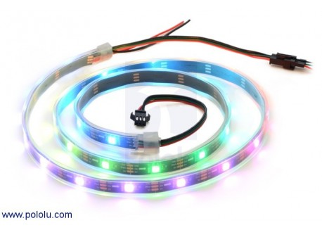 Tira de LED RGB indexable - 1m (WS2812B)
