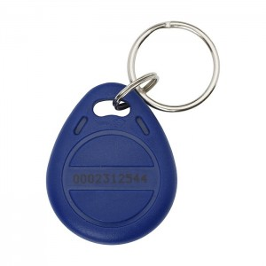 Llavero RFID azul (125KHz)
