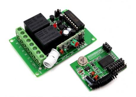 Conmutador RF de 2 canales - 315Mhz