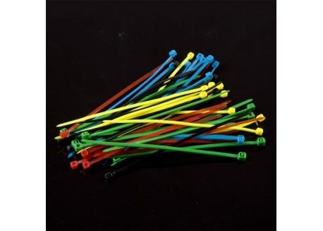 Pack bridas de colores (50 unidades)