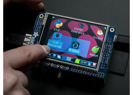 """Pantalla TFT Raspberry Pi - 2.8"""" táctil PiTFT"""