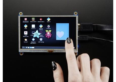Pantalla táctil HDMI 5 pulgadas 800x480
