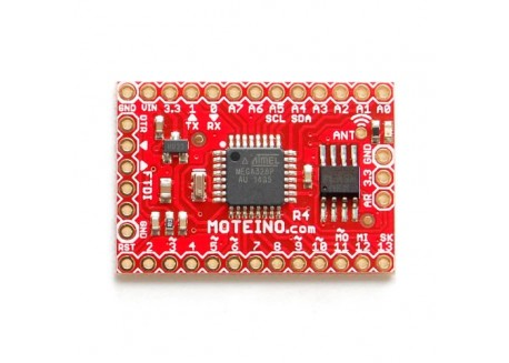 Moteino R4 RFM69W con flash 4Mbit
