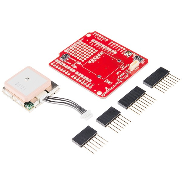 Kit sparkfun gps shield para arduino