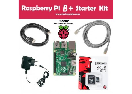 Raspberry Pi B+ Starter Kit