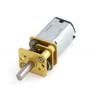Motor Micro Metal DC con reductora 5:1