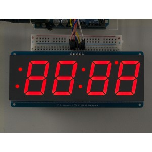 Display 7 Segmentos I2C gigante - Rojo