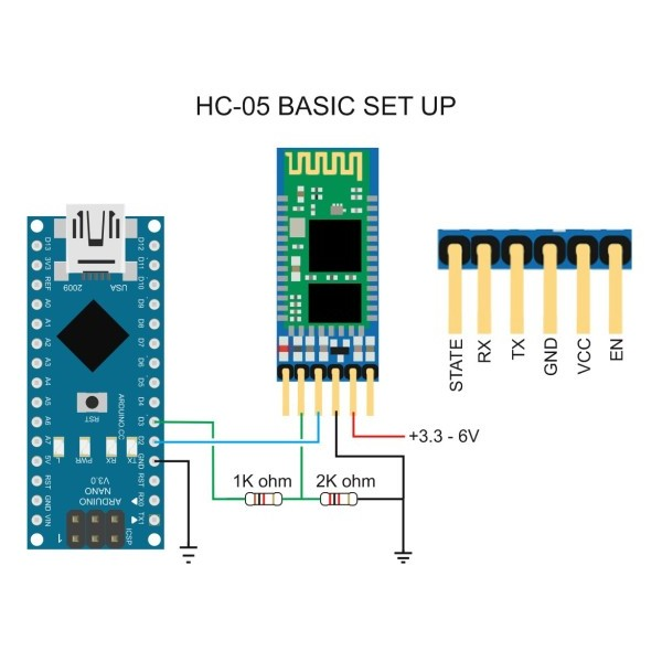 Modulo Bluetooth Hc 05
