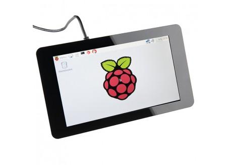 "Pantalla táctil Raspberry Pi 7"" capacitiva"