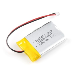 Bateria Lipo 1000mAh / 3.7V