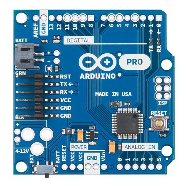 Arduino pro v mhz sparkfun