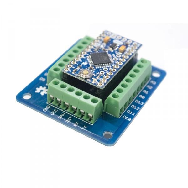 Bricogeek pro mini screw shield para arduino