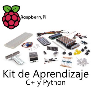 Kit Aprendizaje Raspberry Pi con C++ y Python