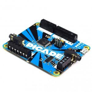 Arduino Picade PCB con amplificador de audio 3W