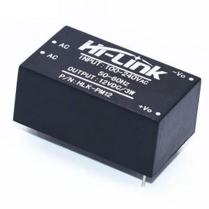 Mini transformador 220V-12V - HLK-PM12