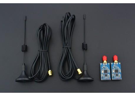 Kit LoRa radio Sx1276 con antena - 433 MHz