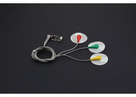 Sensor medidor de pulso ECG
