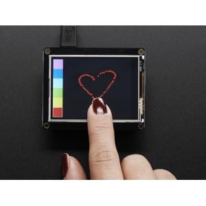 Pantalla FeatherWing LCD - 2.4' táctil