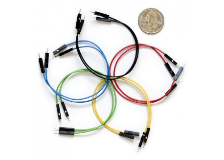 Set de cables Macho / Macho 15cm (10 Unid.)