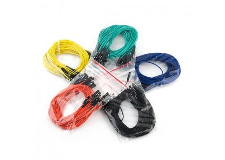 Set de cables Macho / Macho 30cm (100 Unid.)