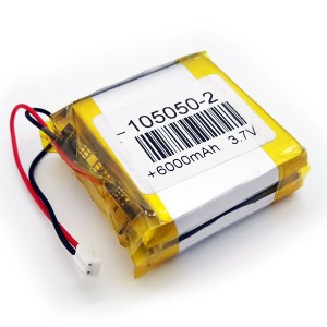 Batería LiPo 6000mAh / 3.7V
