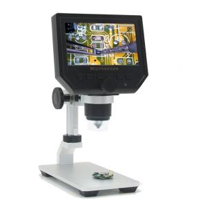 Microscopio 600X USB con pantalla LCD HD 1080p