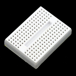 Mini breadboard adhesiva