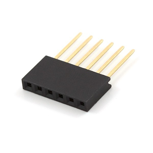 Conector hembra arduino 8 pines for Conector de red hembra