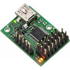 Controlador de servomotores Micro Maestro USB