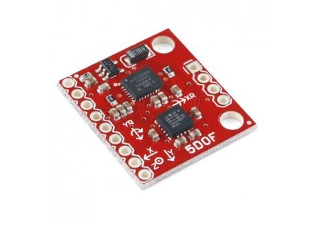 IMU - 5 Degrees of Freedom IDG500 / ADXL335